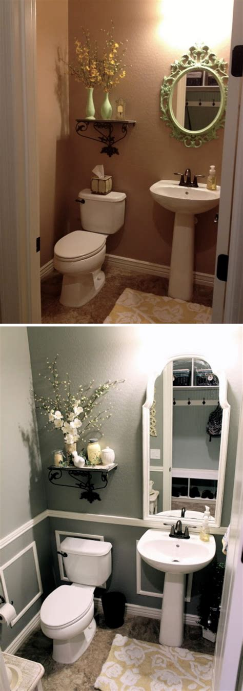 Bathroom Makeover On A Budget by Before And After 20 Awesome Bathroom Makeovers Hative
