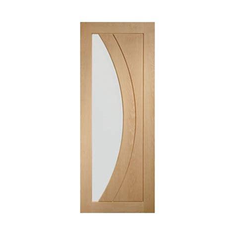 oak doors with glass oak door salermo clear glass