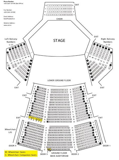 cork opera house seating plan seating plan