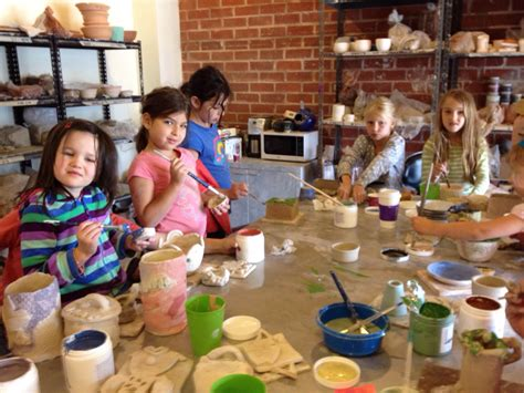 craft classes for best pottery painting classes for in los angeles