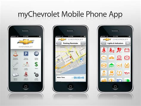 Car Apps For Android Chevrolet by Chevy Unleashes Mychevrolet Onstar Mylink Apps For Iphone