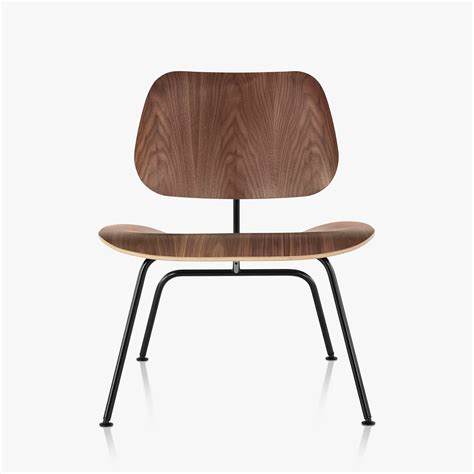 Chair Charles Eames by Eames Molded Plywood Lounge Chair With Metal Base By