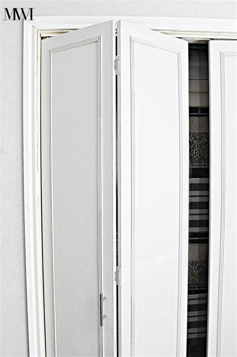 bifold closet door ideas how to update 1970 s bi fold closet doors wants it