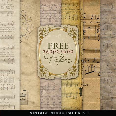 free craft paper downloads vintage sheet printable printable decor