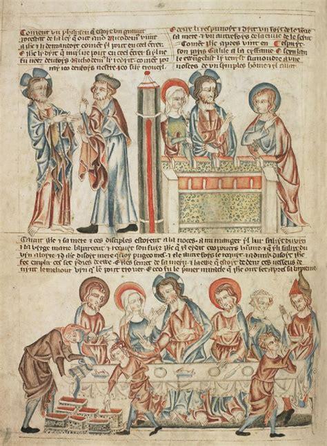 holkham bible picture book свидетельство христа никодиму брак в кане галилейской
