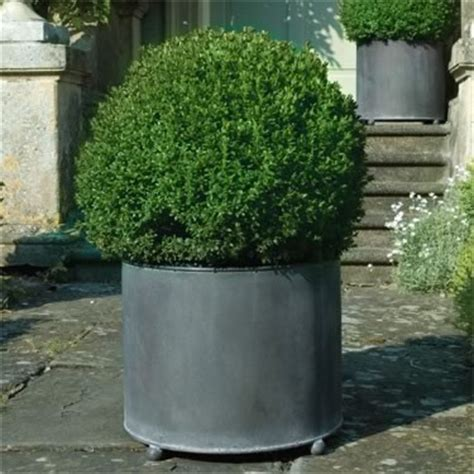galvanized steel planters garden requisites steel planters troughs