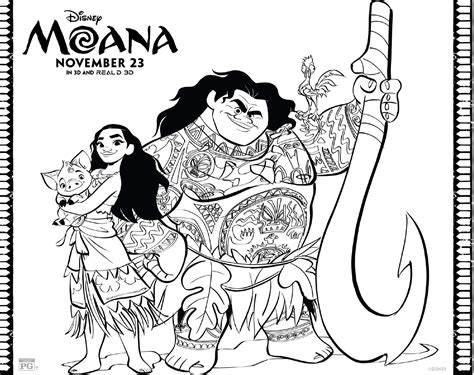 free moana coloring pages download printables here moana