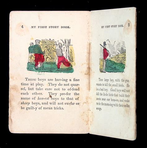 picture book story my story book a 19th c juveniles book