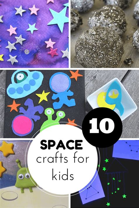astronomy crafts for 10 space crafts for