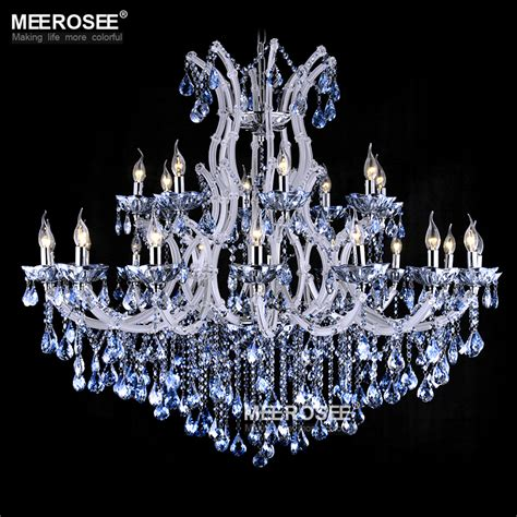 blue and white chandelier blue color theresa chandelier l light