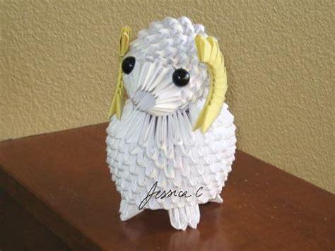 3d origami sheep 3d origami by jchau on deviantart