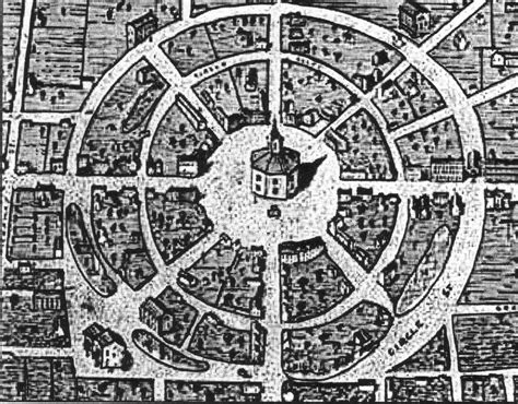 Large Farmhouse Floor Plans 4 1 3 1 the circular radial model quadralectic architecture