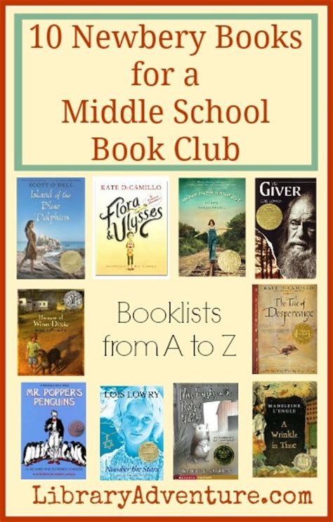 middle school picture books 10 newbery books for a middle school book club