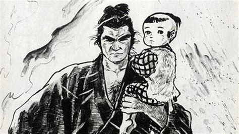 lone wolf and cub justin is still attached to the lone wolf and cub