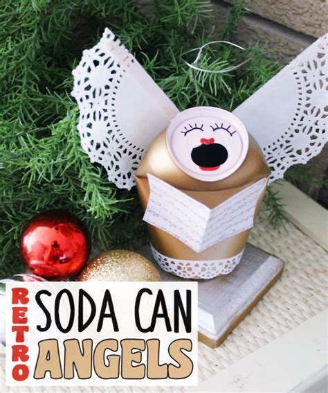soda can ornaments retro craft soda can