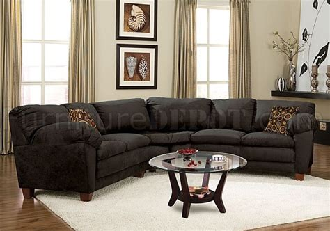 black suede sectional sofa black micro suede casual sectional sofa w soft arm