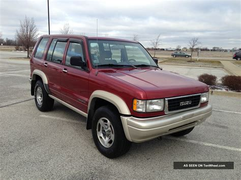 1997 isuzu trooper ls sport utility 4 door 3 2l 2nd owner
