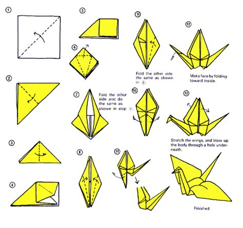 origami crane step by step artsnoob ing its thursday so make a paper crane