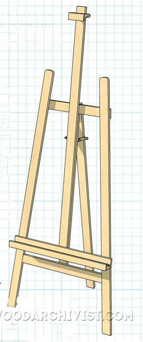 artist easel woodworking plans diy easel woodarchivist