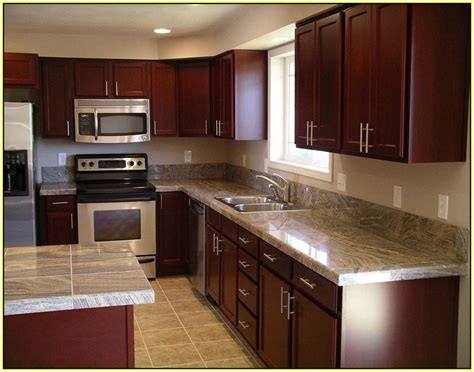 cherry kitchen cabinets with granite countertops light granite countertops with light cabinets home