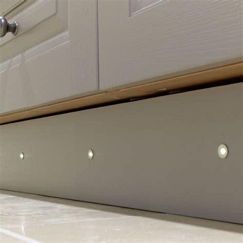 kitchen plinth lighting sensio specto led plinth light pack warm white