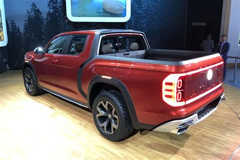 Volkswagen Truck by Vw Explains Why It Brought A Truck Concept To New