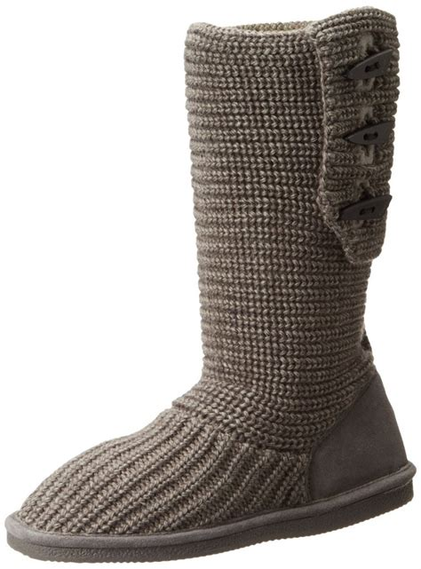 knit bearpaw boots bearpaw knit boot top heels deals