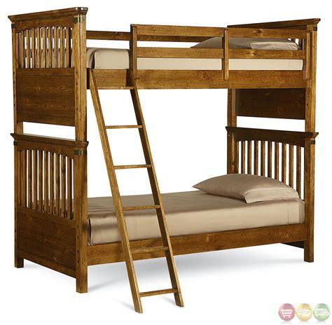 pine bunk beds bryce heirloom pine bunk bed