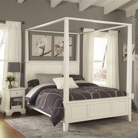 how to set a bed shop home styles naples white bedroom set at lowes
