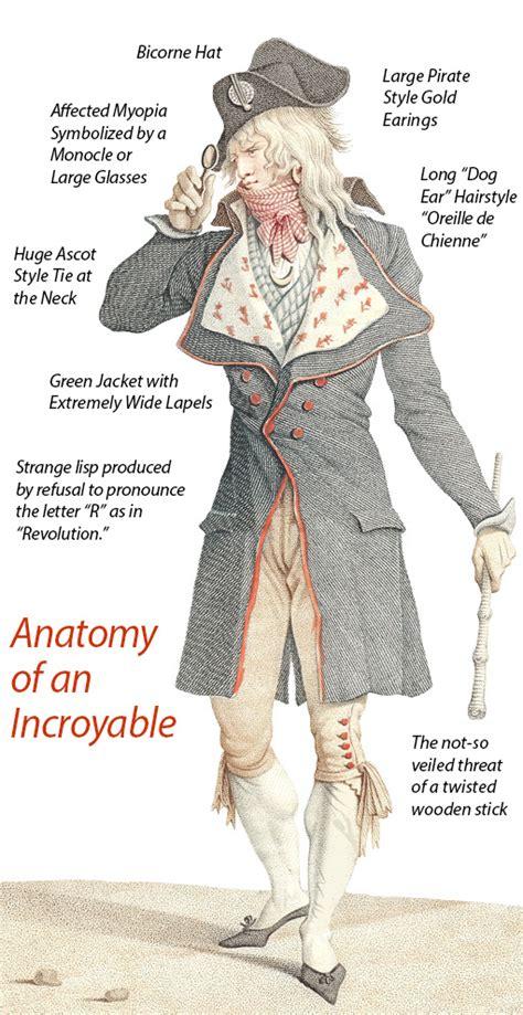 les incroyables et les merveilleuses post revolutionary fashion antique images