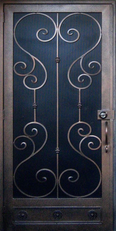 Pella Retractable Screen Door security screen doors wrought iron screen doors