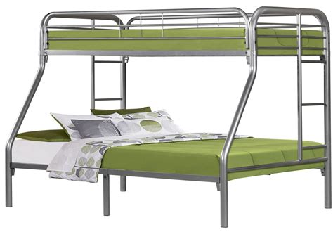 silver bunk bed silver metal bunk bed from monarch 2231s