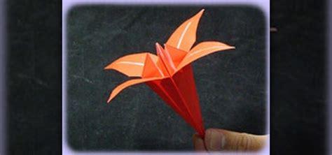 origami beautiful how to fold a beautiful origami iris flower 171 origami