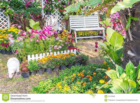beautiful flower garden photos beautiful flower garden stock photo image 51019849