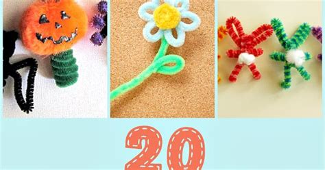 pipe cleaner craft 20 pipe cleaner crafts crafting in the