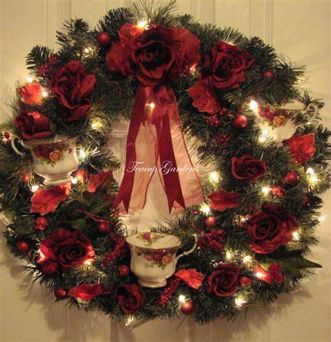 wreaths lighted lighted wreaths danemccaslin co