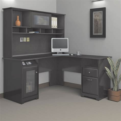 bush l shaped desk bush cabot l shaped desk desks more shop the exchange