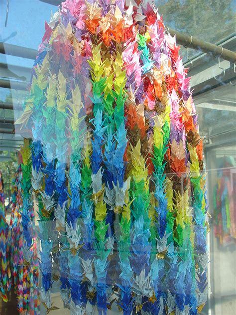 thousand origami cranes 1000 cranes origami 171 embroidery origami