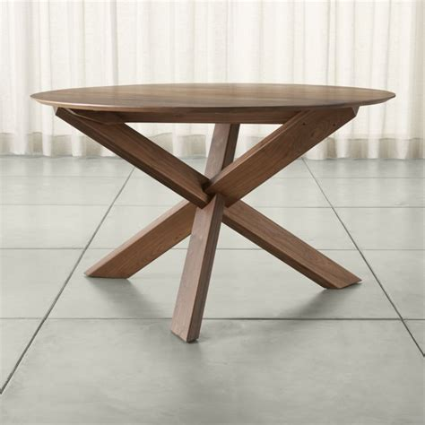 crate and barrel dining room tables apex 51 quot dining table crate and barrel