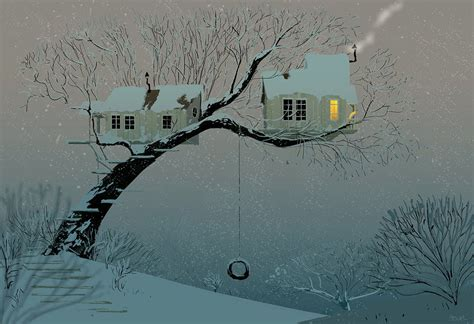 snowy tree pictures snowy tree house by pascalcion on deviantart
