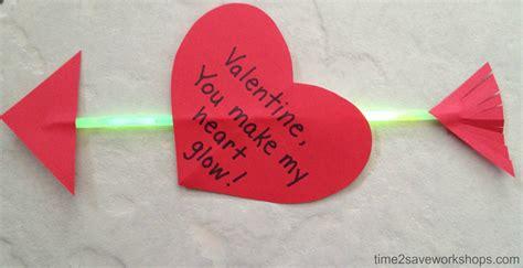 valentines craft ideas craft ideas make their quot glow quot diy crafts