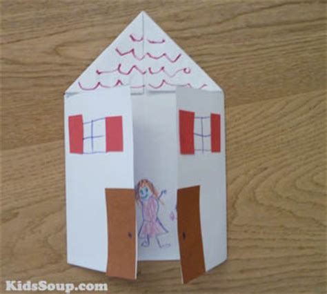 house craft for home is where the is all about me lesson plan