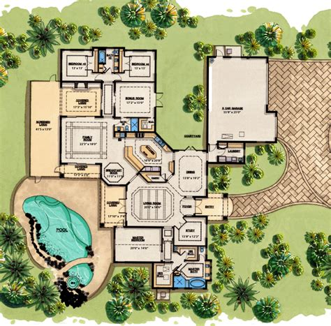 Luxury Farmhouse Plans floor plans examples focus homes
