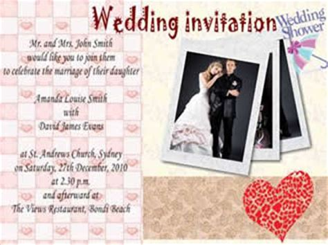 how to make invitation card for wedding how to make a wedding invitation card