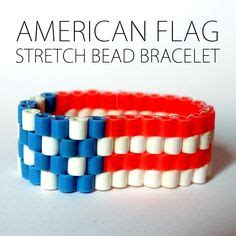 learn how to bead american perler bead usa on perler american flag