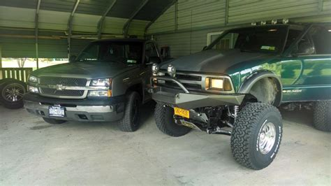 custom front and rear bumpers for s10 blazers blazer custom bumpers anyone blazer forum chevy blazer forums
