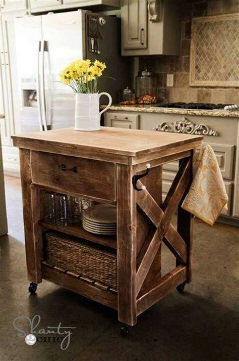 rustic kitchen islands and carts 32 simple rustic kitchen islands amazing diy interior home design