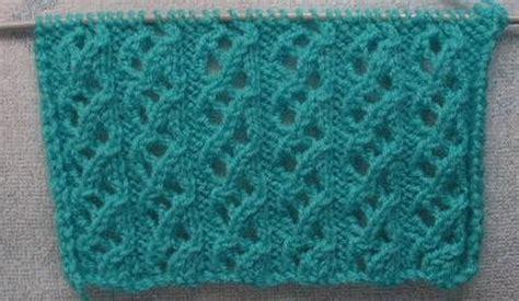 knitting k1tbl knitting galore saturday stitch waterfall stitch