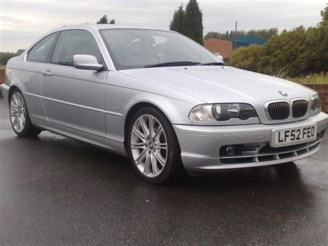 2002 Bmw 3 Series Coupe by Used 2002 Bmw 3 Series Coupe Silver Edition 320 Ci 2dr