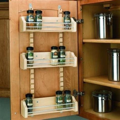 inside cabinet door spice rack spice rack on inside of cabinet door organization